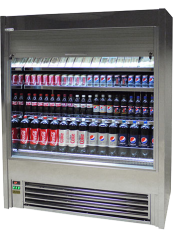 Standard Stainless Steel Display Fridge