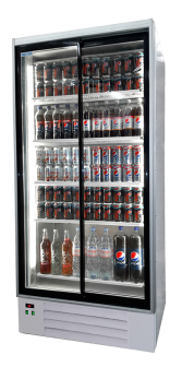 Single Door Upright Display Freezer