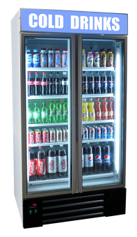 Single Door Upright Canopy Display Fridge
