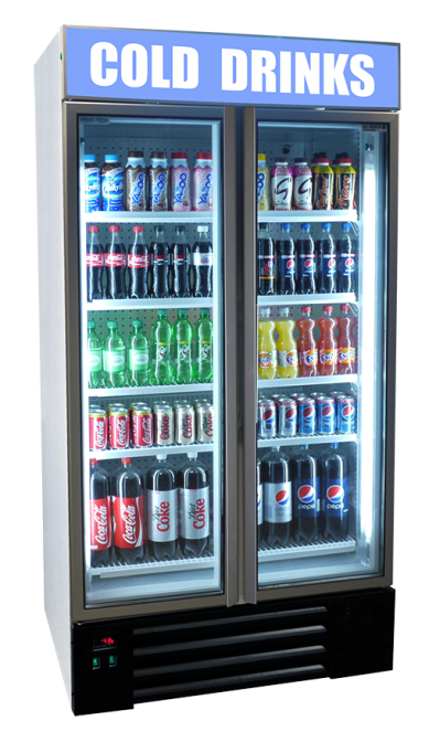 canopy upright fridge