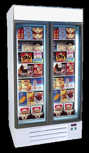 food display freezer