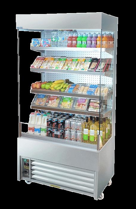 Multideck refrigerator