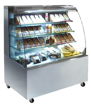 grab and go display chiller