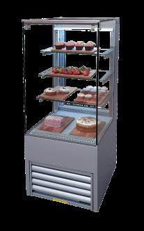 patisserie display fridge