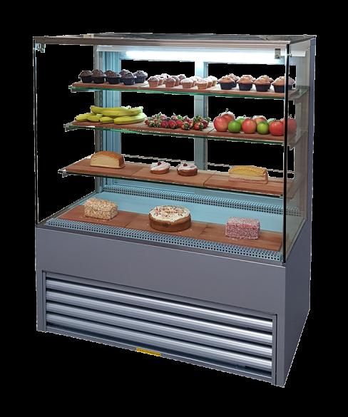 pastry display fridge