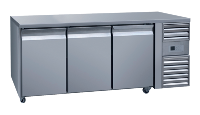 long undercounter freezer
