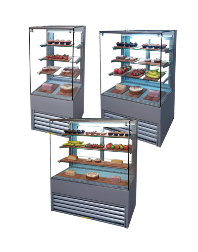 patisserie display fridge