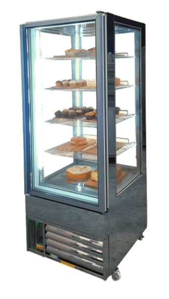 upright cake fridge