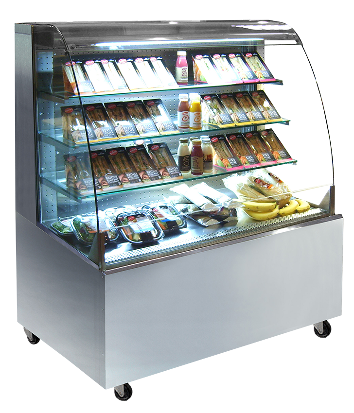 Stainless Steel Grab Amp Go Costa Display Fridges Frost